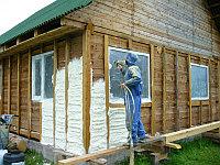 Утепление дома, стен, мансарды, крыши, фундамента ППУ (Пена)