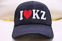 """Войлочная бейсболка """"I LOVE KZ"""", фото 1"""