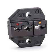 Номерные матрицы для опрессовки изолированных наконечников, гильз и разъемов МПК-01 ™КВТ