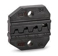 Номерные матрицы для опрессовки автоклемм под двойной обжим МПК-04 ™КВТ
