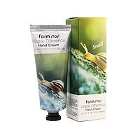 FarmStay Visible Difference Snail Hand Cream Крем для рук на основе слизи улитки 100 мл