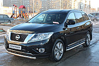 Nissan Pathfinder 2014- Защита передняя D 76,1