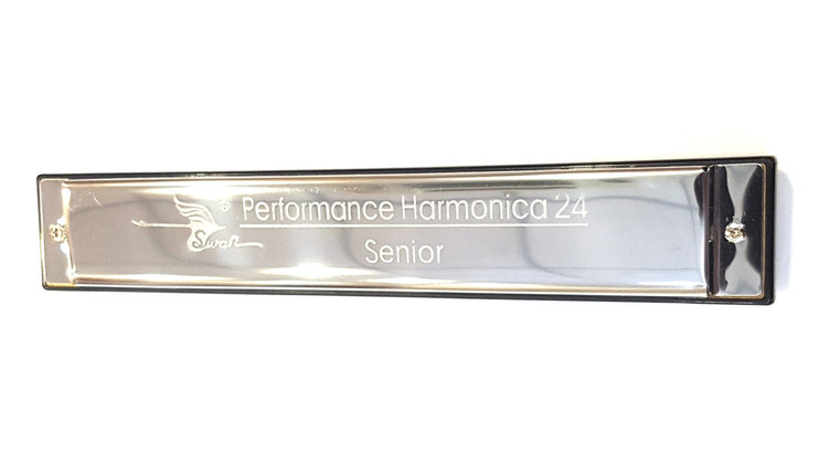 Губная гармошка SWAN Senior Performance Harmonica 24, фото 2