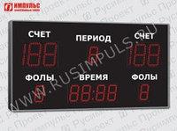 Табло для баскетбола Импульс-721-D21x6-D15x7