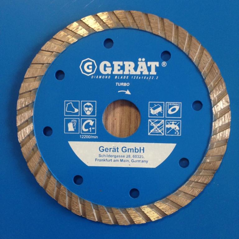 "Турбо диски ""GERAT""  105 мм Premium 12мм , посадочное 20-16"