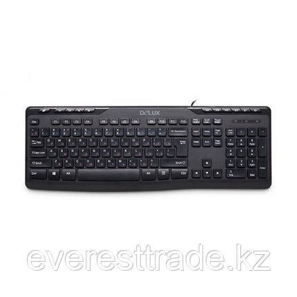 Клавиатура проводная Delux DLK-06UB, фото 2