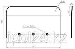 Комплект лопастей для затирочн. маш. GROST – 140x250 мм (4шт)
