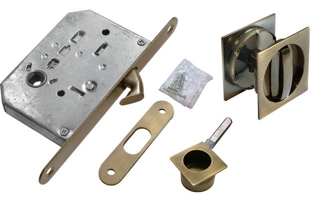 Комплект для раздвижных дверей Morelli MHS-2 WC AB