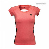 Better Bodies Performance Soft Tee, футболка коралл M