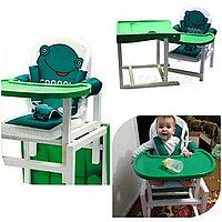 Стул-стол для кормления FROGGY зеленый BABYS