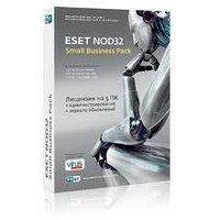 Антивирус ESET NOD32 SMALL Business Pack newsale for 5 user