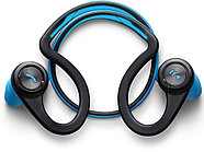 Блютуз гарнитура Plantronics BACKBEAT FIT (синий)