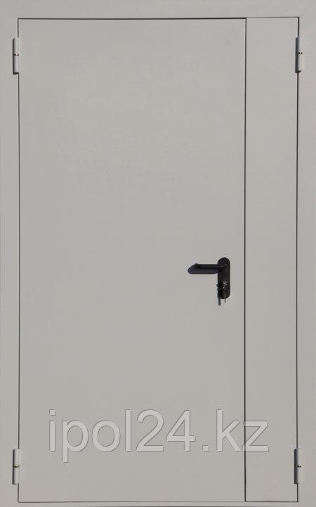 Противопожарная дверь двустворчатая ДПМ 02 Ei60