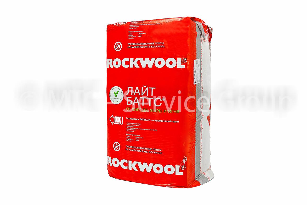 Теплоизоляционные плиты Rockwool Лайт Баттс