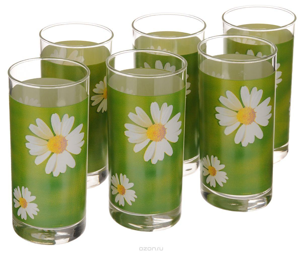 Набор стаканов Luminarc Paquerette Green  6  штук