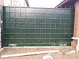 Уличные металлические ворота, фото 4