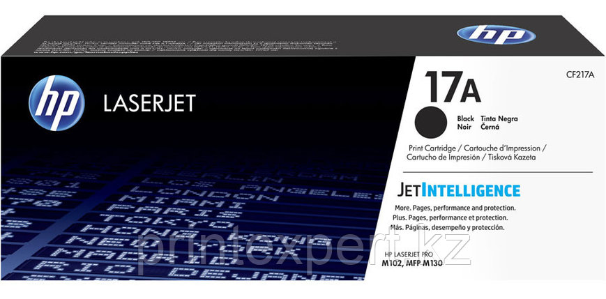 HP CF217A 17A Black Original LaserJet Toner Cartridge for LaserJet M102/M130, фото 2