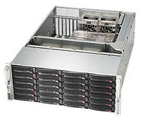Корпус Supermicro CSE-846BE16-R920B 4U 13.68''x13'', 24x3.5'' hot-swap, expander SFF8087, redundant 920W