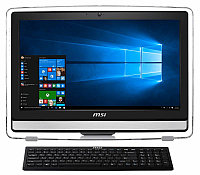 Моноблок MSI Pro 22ET 4BW-010RU Celeron N3150 (1.6)/4Gb/500Gb/21.5'' FHD Multi-Touch GL/Int:Intel HD/DVD-SM/WiFi/DOS