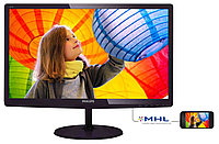 "Монитор 23.6"" Philips 247E6QDAD/00(01) Dark Cherry Red IPS, 1920x1080, 5ms, 250 cd/m2, 1000:1 (DCR 20M:1), D-Sub, DVI, HDMI, Speakers, Headph.Out"