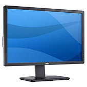 "Монитор 27"" Dell U2713H Black, Ultrasharp, LED, IPS, 2560x1440, 6ms, 350 cd/m2, 1000:1 (DCR 2M:1), D-Sub, DVI (HDCP), DP, HDMI, USB, HAS, Pivot"