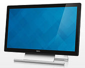 "Монитор 21.5"" Dell S2240T Touch, LED, VA, 1920x1080, 12ms, 250 cd/m2, 3000:1 (DCR 8M:1), D-Sub, DVI, HDMI"