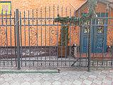 Металлический забор, фото 3