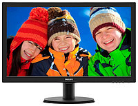 "Монитор 23.6"" Philips 243V5LHAB/00(01) Black Hairline WLED, 1920x1080, 1ms, 250 cd/m2, 1000:1 (DCR 10M:1), D-Sub, DVI-D, HDMI, speakers, Headph.Out, v"