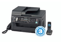 МФУ Panasonic KX-MB2061RUB ч/б A4 24ppm 600x600dpi автоподатчик факс DECT телефон Ethernet USB черны