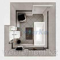 Акриловая  прямоугольная ванна Арагона 190*90 см. 1 Марка. Россия (Ванна + каркас +ножки), фото 3