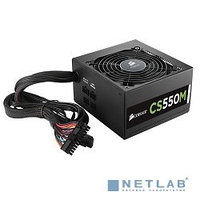 Блок питания Corsair 550W CS Series (CS550M) v.2,4,A.PFC,80 Plus Gold,Fan 14 cm,Modular,Retail