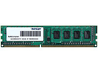 Память DDR3 8Gb (pc-12800) 1600MHz Patriot 1.35V PSD38G1600L2