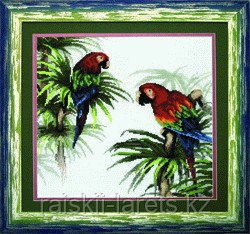 """Набор для вышивания крестиком """"Попугаи""""  426"""