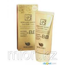 Bergamo Magic snail BB Cream SPF 50 ВВ-крем с фильтратом слизи улиток