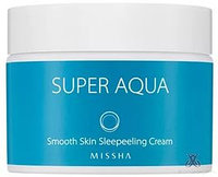 Ночной крем-пилинг Missha Super Aqua Smooth Skin Peeling Cream