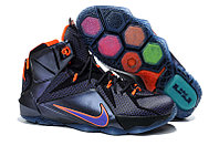 Кроссовки Nike LeBron XII (12) Black Elite Series (40-46), фото 1