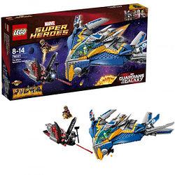LEGO  Супер Герои 76021 Спасение космического корабля Милано™