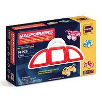 Magformers My First Buggy Car Set - Red Магнитный конструктор Магформерс