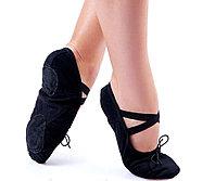 Балетки для танцев Rivage Line черные