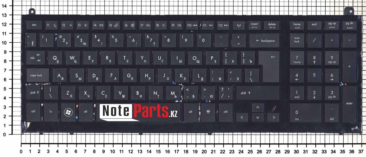 Клавиатура для ноутбука HP 4520, 4520s, 4525s с рамкой