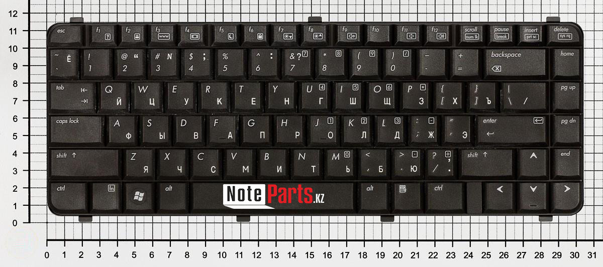 Клавиатура для ноутбука HP 510, 511, 610