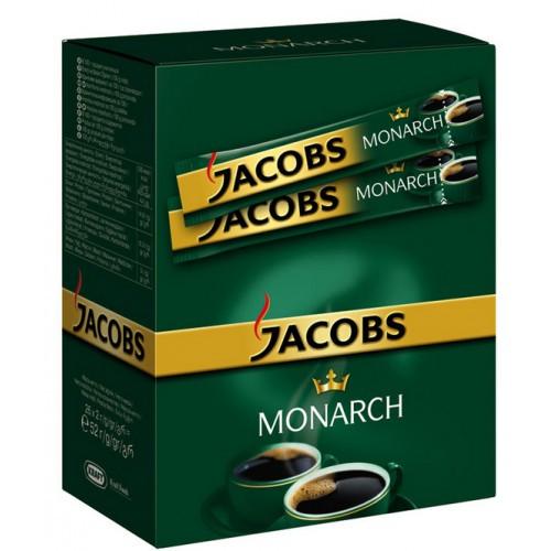 КОФЕ РАСТВОРИМЫЙ JACOBS MONARCH, 26 пакетиков по 2гр