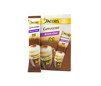 КОФЕ РАСТВОРИМЫЙ JACOBS MONARCH CAPUCCINOSE, 21 пакетик по 12.5гр