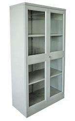 Шкаф архивный металлический двухстворчатый (стеклянная дверь)