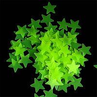 Звезды - ночники для потолка и стен (100 шт.)