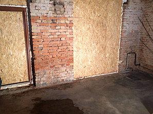 Очистка кирпичной стены от солевых отложений, объект Суши бар 2