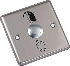 Кнопка выхода металлическая