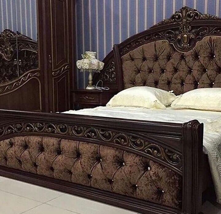 ШАХ спальный гарнитур, орех