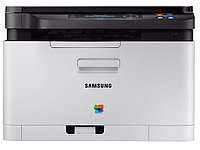 Samsung SL-C480 {цветное мфу A4, P/C/S, 18/4ppm, 2400x600, 128Mb, USB2.0A4;ОС: Windows, Linux, Mac OS}  [SL-C480/XEV]