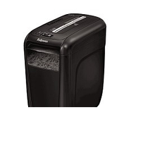 Fellowes Шредер Powershred 60Cs FS-4606101 {SafeSense, 3,9х50мм, 9лст.,22лтр. Уничтожает: скобы, скрепки,карты